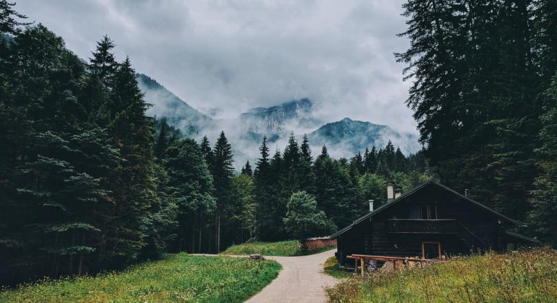 cabin_by_ValeriiaMiller